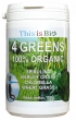 This is Bio - 4 GREENS 100% ORGANIC - 110g